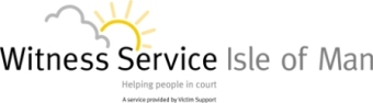 Witness Support Service Isle of Man